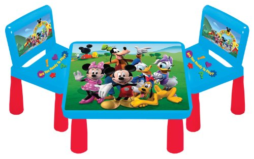 Customer Reviews  sc 1 st  Game Table Set Ratings Best Game Table Set - Blogger & Discount Kids Only Mickey Mouse Clubhouse Funtime Table Set Compare ...