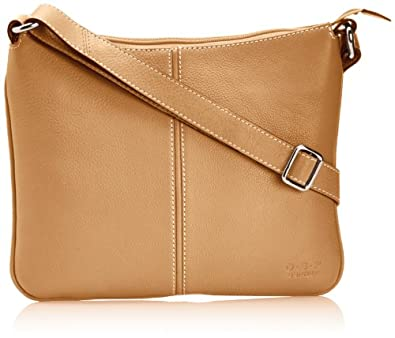 Osprey London Womens Corsica Cross-Body Bag 9040-58 Nut