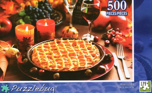 Harvest Pie - Puzzlebug - 500 Pc Jigsaw Puzzle - NEW - 1
