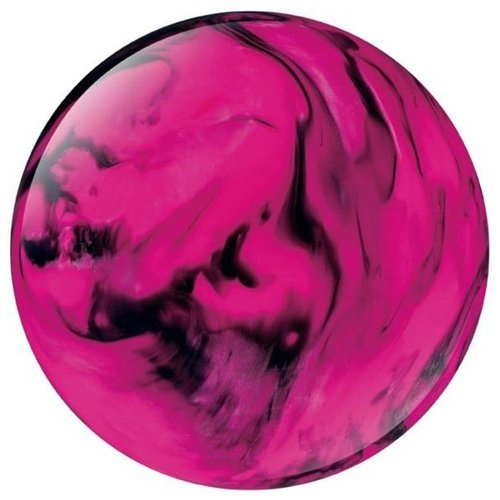 Columbia 300 White Dot Bowling Ball- Pink/Black (8lbs)