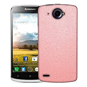 Snoogg pink distorted water Designer Protective Back Case Cover For Lenovo S920