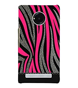 Pink Love Girly Wall 3D Hard Polycarbonate Designer Back Case Cover for YU Yureka Plus