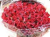 fleurcoco 赤バラ花束100本 おしゃれなギフトラッピングでお届け 【 誕生日プレゼント 結婚記念日 結婚祝い プロポーズ 退職祝い  花 お祝い】