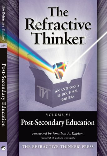 The Refractive Thinker®: Vol VI: Post-Secondary Education: Dr. Tom Woodruff: Epilogue