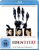 DVD Cover 'Identität [Blu-ray]