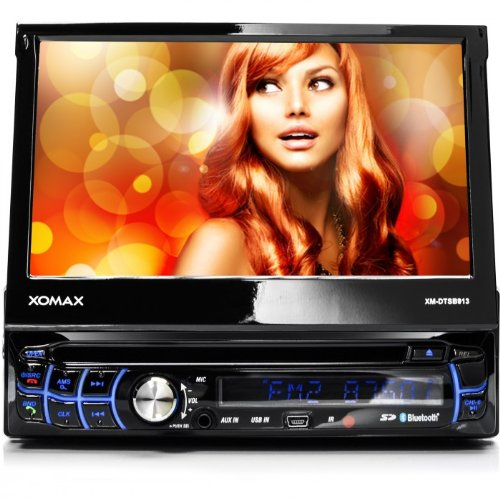 XOMAX XM-DTSB913 car stereo / Moniceiver + 18 cm / 7 ' High Definition touchscreen + Plays audio and video files... Black Friday & Cyber Monday 2014