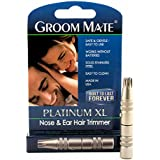 Groom Mate Platinum XL Nose & Ear Hair Trimmer - Made in USA - Lifetime Warranty...