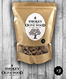 Smokey Olive Wood Räucherchips mittel Nº3