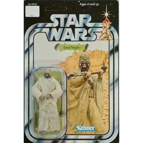 Star Wars 3.75 Vintage Sand People Figure by Hasbro (English Manual)
