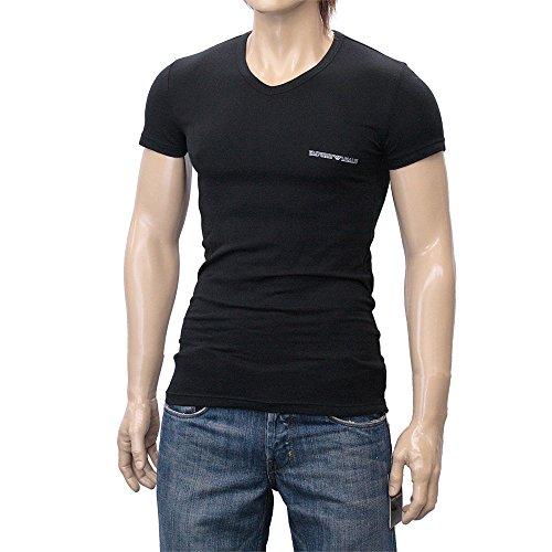 (エンポリオアルマーニ)EMPORIO ARMANI Vネック Tシャツ 半袖 110810-5P725 2015新作 [並行輸入品]