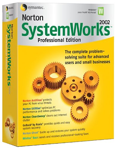 Norton SystemWorks 2002 Pro Edition (5-pack)