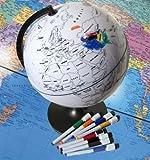 EDU-Toys 15900 - Mal-Globus incl. 8 Boardstifte