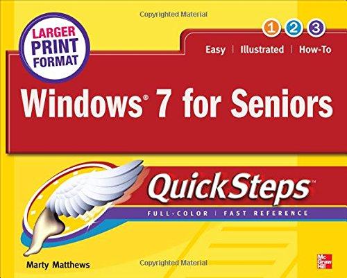Windows 7 For Seniors Quicksteps