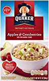 Quaker Instant Oatmeal Apples and CRANBERRIES 344g NEW