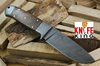 Knife King quotHelmand-2quot Custom Damascus Handmade Hunting Knife Comes with a sheath