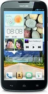 Huawei Ascend G610 Smartphone (12,7 cm (5 Zoll) HD-Display, 5 Megapixel Kamera, 4GB Interner Speicher, Android 4.2) schwarz