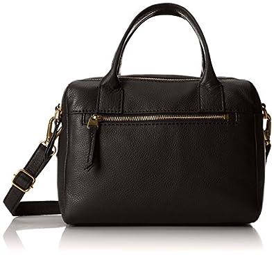 Fossil Erin Zipper Shoulder Bag, Black, One Size