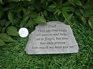 Memorial. Dad They say time heals.. Great Thoughts Garden ...