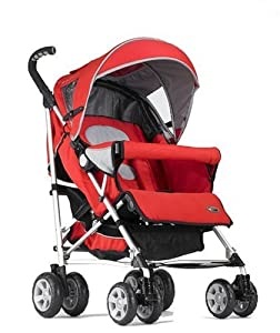 Zooper Hula Red Umbrella Stroller - Elite Line