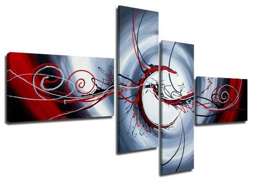 Images sur toile 160 cm (optique peint à la main Nr. 6516) pret a accrocher, marque original Visario