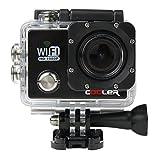KIPTOP Caméra Sport Action étanche Wifi Vidéo HD pour voyage plage/camping/ski-Noire...