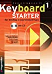 Keyboard-Starter, m. CD-Audio, Bd.1