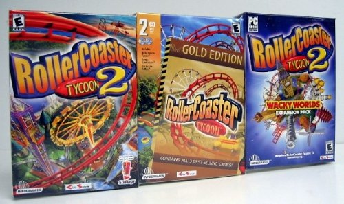 Roller Coaster Tycoon Mega 3-Pack (PC)
