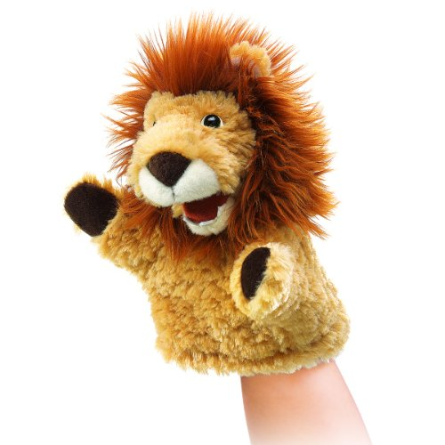 Folkmanis Little Lion Hand Puppet - 1