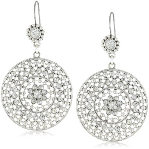 Jessica Simpson Large Drop Earrings