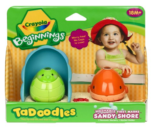 Crayola TaDoodles Washable First Marks Sandy Shore