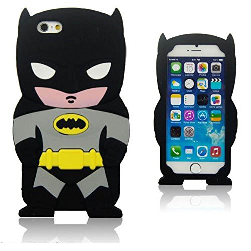 iPhone 6 case,3D Batman Silicone Jelly Soft Skin Case Cover for iPhone 6 4.7inch