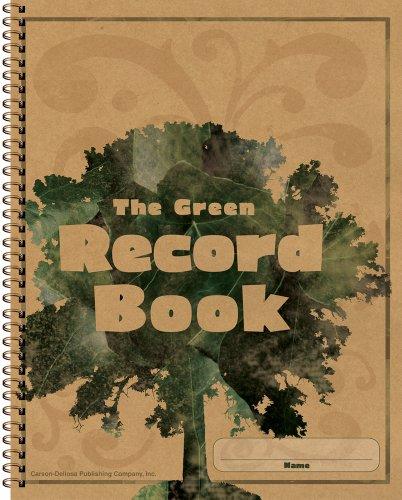 Carson Dellosa The Green Record Book Record/Plan Book (104301)