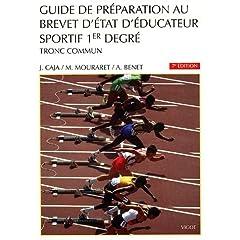 Guide de préparation au BEES 1er degré : Tronc commun