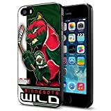 NHL Minnesota Wild , Cool iPhone 5 5s Smartphone Case Cover Collector iphone Black