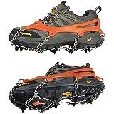 Vktech® Anti Slip Ice Cleats Shoe Boot Grips Crampon Chain Spike Sharp Snow Walker