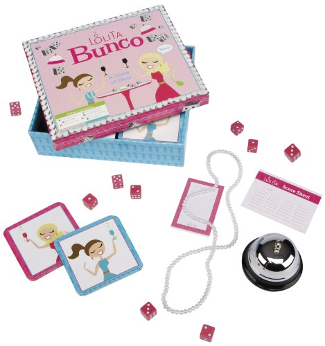 C.R. Gibson Lolita Bunco Game
