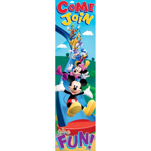 Eureka Mickey Mouse Clubhouse Come Join The Fun! Vertical Banner front-946759