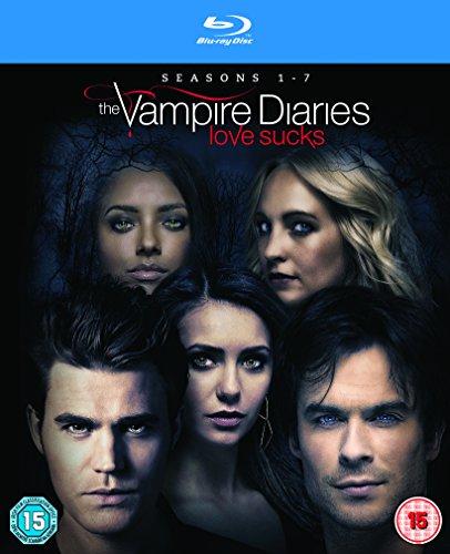 The Vampire Diaries - Season 1-7 [Blu-ray] [Region Free] [UK Import] (The Vampire Diaries Season 7 compare prices)