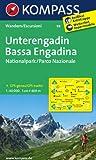 Unterengadin - Bassa Engadina - Nationalpark - Parco Nazionale: Wanderkarte. GPS-genau. 1:40000