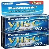 Super High-grade Vhs-c Videocassette(2 pk.)