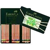Faber-Castell PITT Pastel Pencil Tin - 60 count 112160 Metal Tin of 60