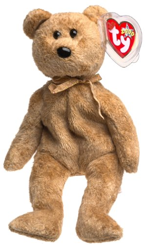 Ty Beanie Babies - Cashew the Bear - 1