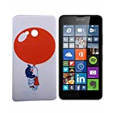 ExclusiveExclusive Soft Back Case Cover For Microsoft Lumia 540 (Dual Sim)- Red Ballon