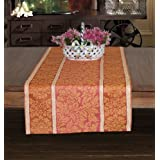 Linen Cotton Table Runner 90-inch Tiffany Collection European Made