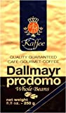 Dallmayr Gourmet Coffee, Prodomo (Whole Bean), 8.8-Ounce Vacuum Packs (Pack of 4)
