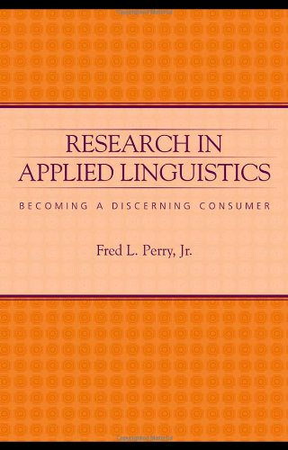 Research in Applied Linguistics: Becoming a Discerning...