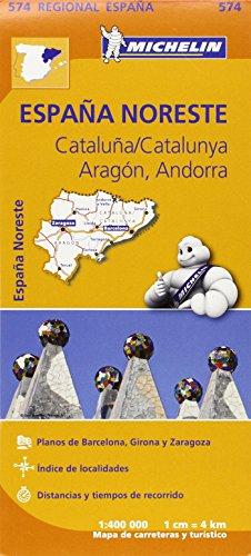 Mapa Regional Cataluña, Aragón, Andorra (Carte regionali)
