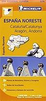Catalu�a / Catalunya, Arag�n, Andorra Regional Map 574 (Michelin Regional Maps)