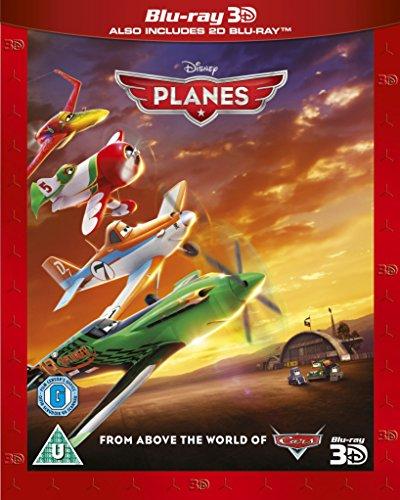 Planes [Blu-ray 3D + Blu-ray] [Region Free]