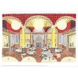 Clara Button 'Café Scene' A3 Print||EVAEX